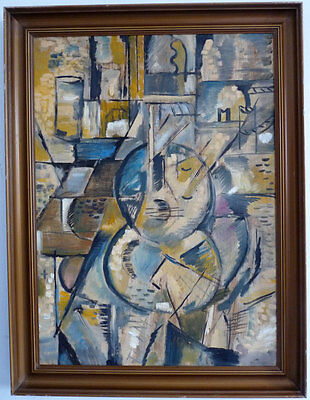 Abstrakte Komposition, Kubist, 1. Hälfte 20. Jh.