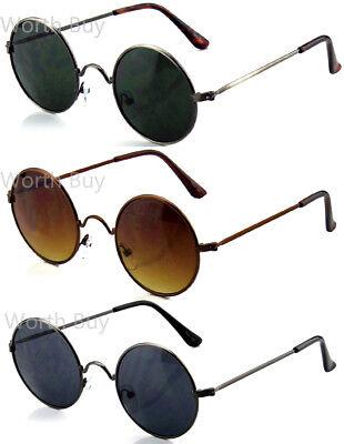Small John Lennon Sunglasses Round Hippie Hipster Shades Retro Vintage 60s 70s  (Hippie Shades)