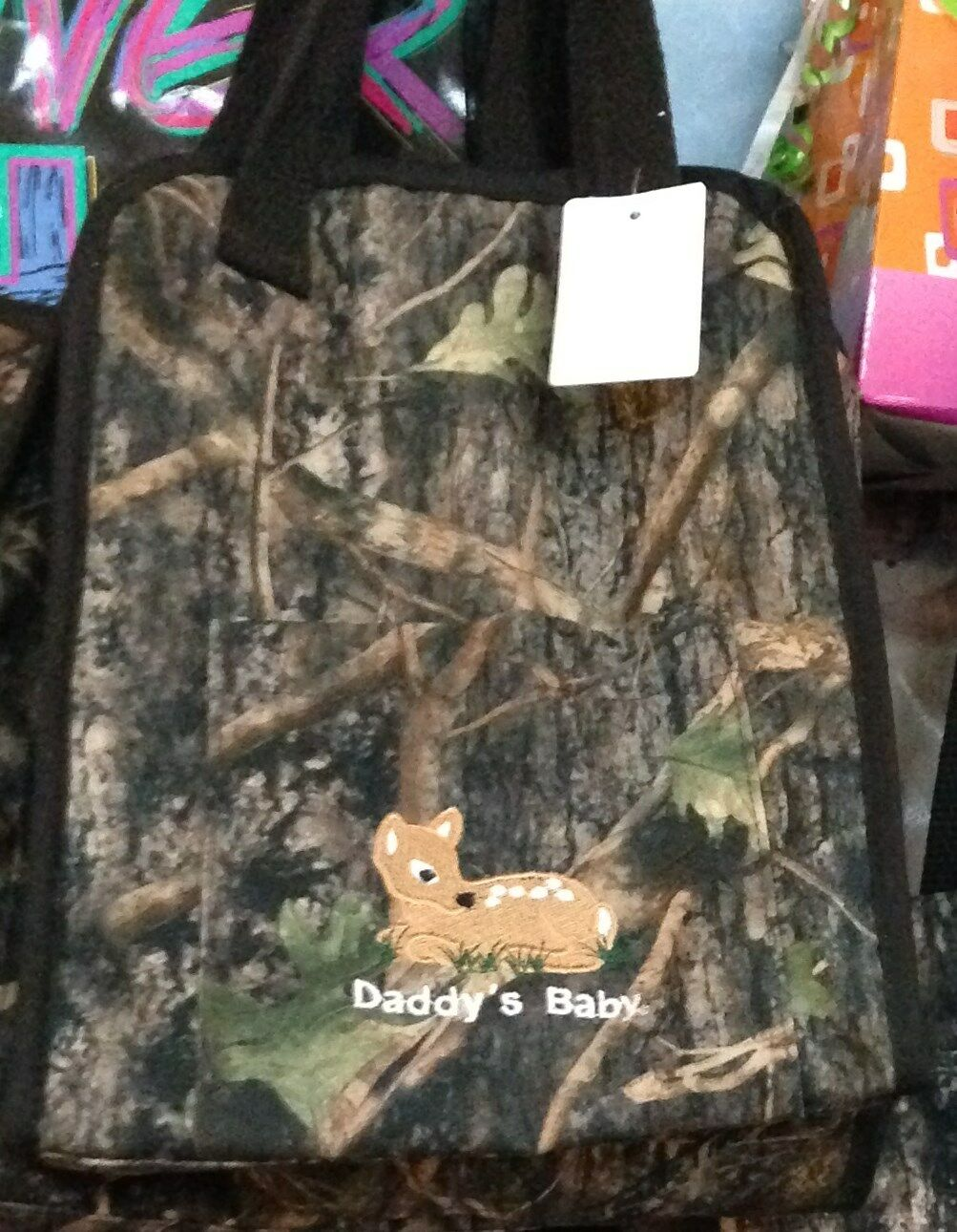 NWT Small Diaper Bag TOTE Realtree or True Timber Camo Pink