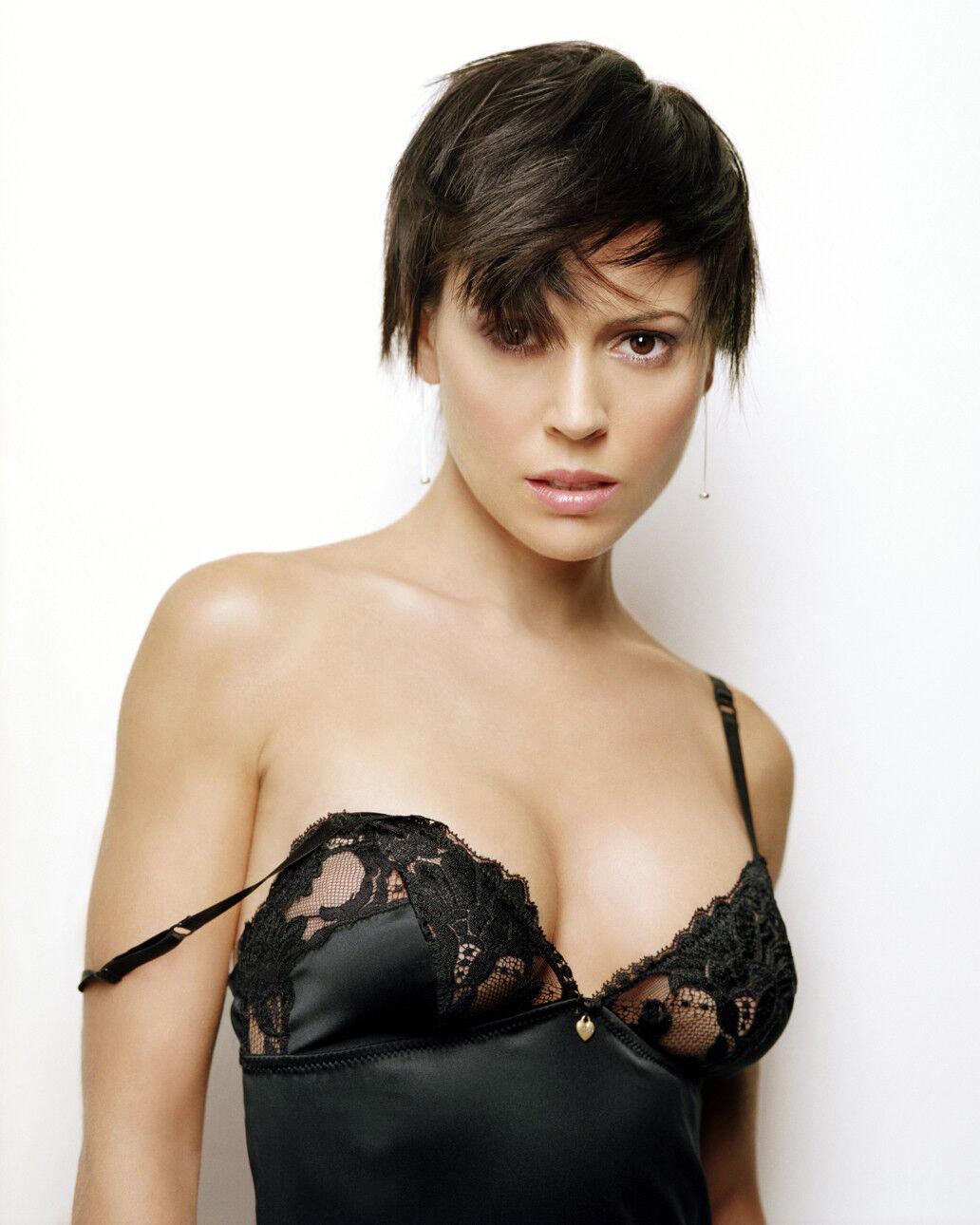 Alyssa milano 8x10 celebrity photo picture pic hot sexy 84