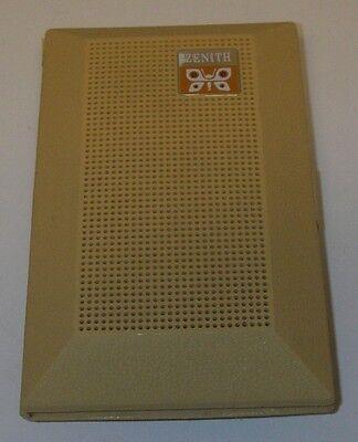 Mid-Century 1965 Zenith Royal 16 AM Transistor Radio Billfold Working