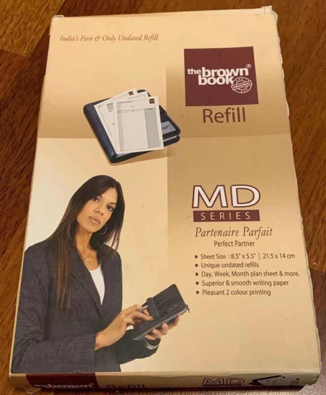 The Brown Book Refill MD Series Perfect Partner