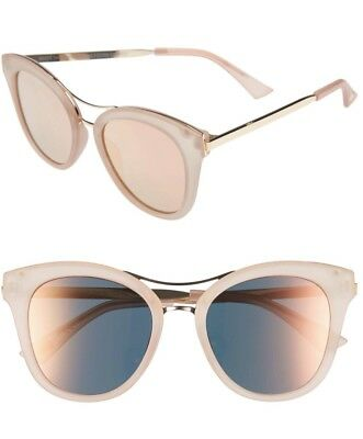 Item 8 SP.3 Pink Nude / Gold Designer Sunglasses By Foster Grant New