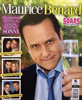 Maurice Benard Soaps In Depth General Hospital Sonny New Magazine 2018