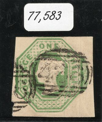 1847 Great Britain. SC#5. SG#54. Used, XF. Certificate