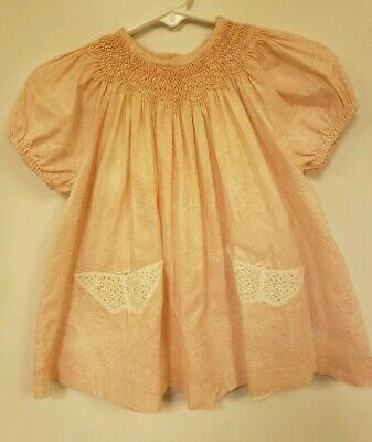 Poeme & Poesie Handmade Baby Girl Smocked Embroidered Heirloom Dress NWT 6-9 mo ()