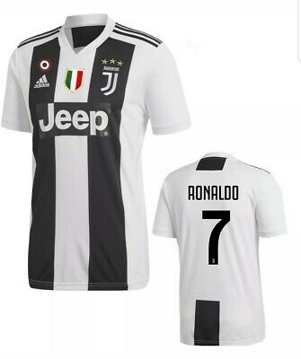 5beeaf889 NEW Adidas Juventus Ronaldo Soccer jersey  7 Jeep Series Size XL nwt