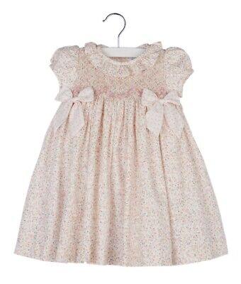 Little Girl Smocked Dresses (Luli & Me dress, smocked cotton, 18 months little girl/baby,)