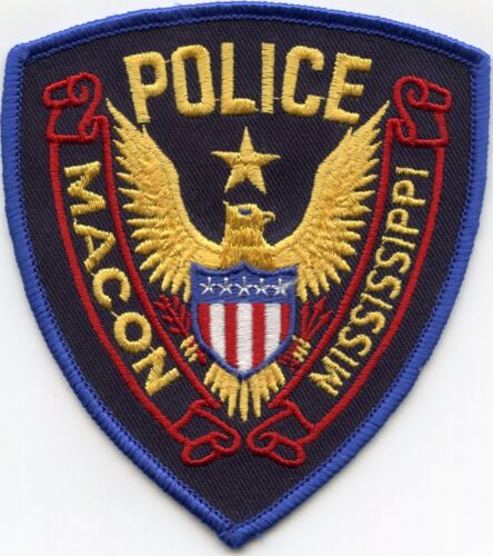 MACON MISSISSIPPI MS POLICE PATCH