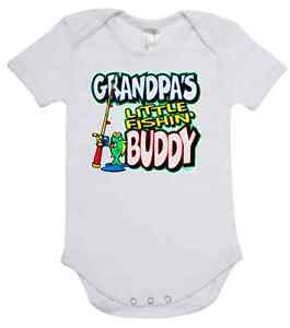 Baby One Piece Romper Onesie Printed With Grandpa 39 S Little