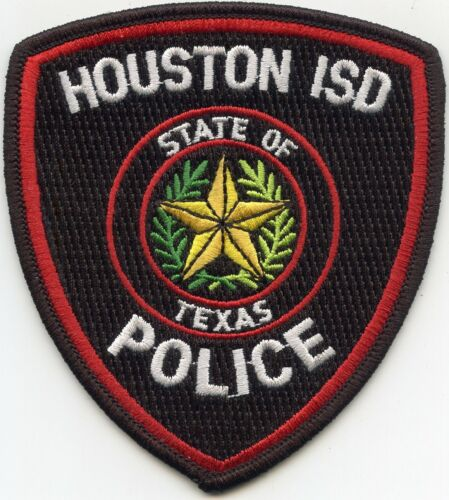 HOUSTON Independent School District ISD TEXAS TX POLICE PATCH