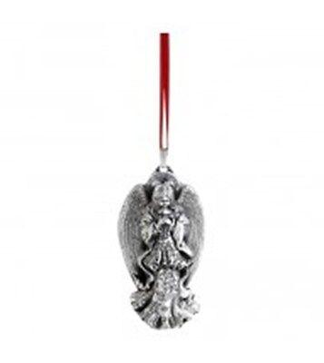 2014 Reed Barton Genuine Silver 12th Annual Angel Lillian Xmas Ornament Pendant
