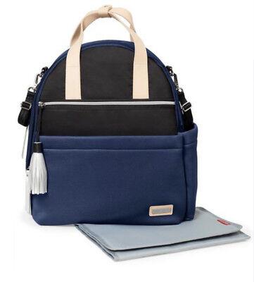 NWT Skip Hop Nolita Neoprene Diaper Backpacks ~ NAVY ~ - Navy Backpacks