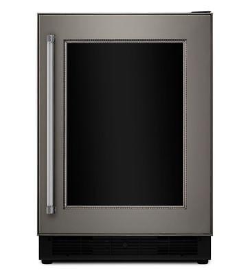 """KitchenAid 24"""" BEVERAGE CENTER 6 CU FT 14 BOTTLES PROXIMITY LED KUWR204EPA"""