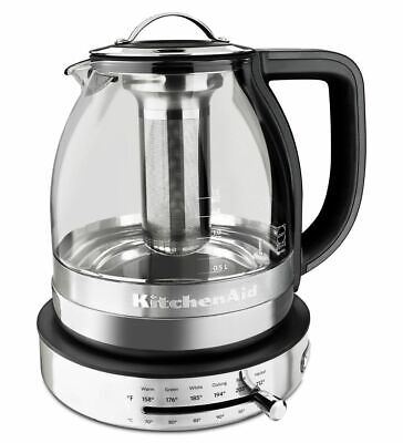 KitchenAid 1.5 L Glass Tea Kettle, KEK1322SS