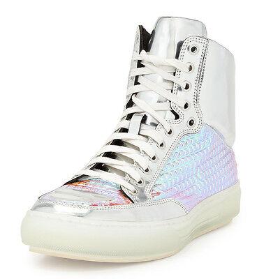 Alejandro Ingelmo Mens Jeddi US 14 (EU 13) Silver Iridescent Sneakers Shoes $750