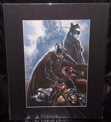 524 Poster Print The Dark Knight Rises Return Joker Movie TDK Movie 2012