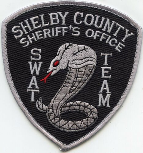 SHELBY COUNTY TENNESSEE TN SWAT SHERIFF POLICE PATCH
