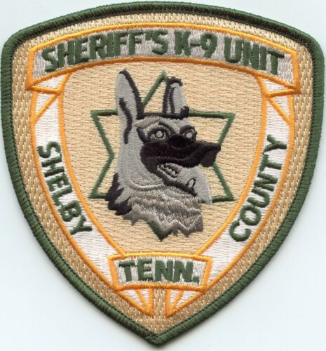 SHELBY COUNTY TENNESSEE TN K-9 SHERIFF POLICE PATCH