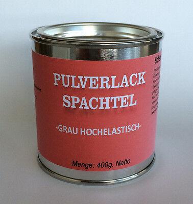 Pulverlack Spachtel - Hochelastisch - Hitzefest 400g.