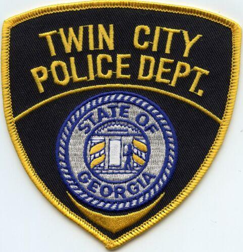 TWIN CITY GEORGIA GA POLICE PATCH