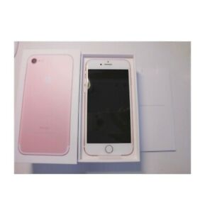 Gently used iPhone 7 rose gold 128gb