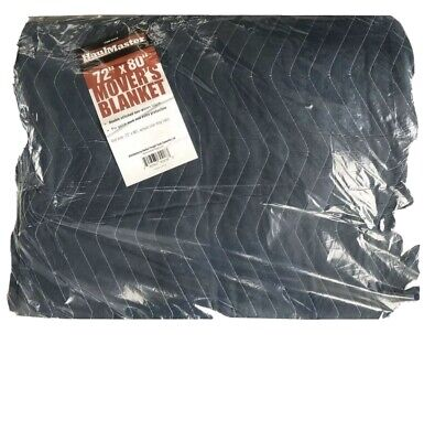 72 X 80 Blue Padded Quilted Furniture Movers Moving Blanket Pad New