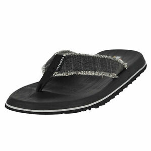 0f402106fd81 Skechers Relaxed Fit Tantric Salman Mens Flip Flop Sandals Black 9 ...