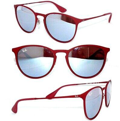 Ray Ban 3539 Sonnenbrille ROT VERSPIEGELT 9023/B5 ERIKA 4171 DAMEN BRILLE ETUI