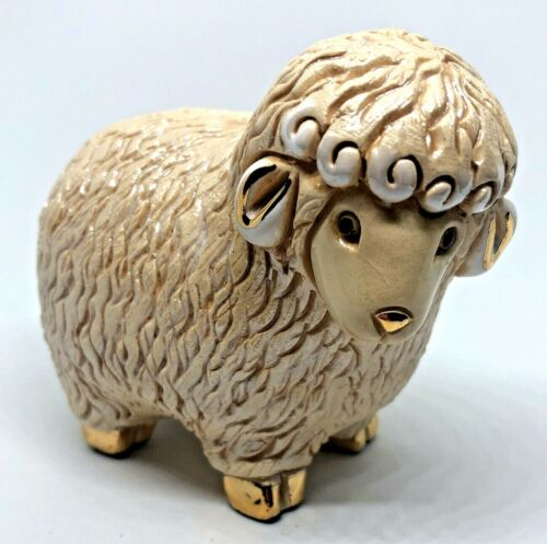 Artesania Rinconada Anniversary Edition Enameled Momma SHEEP Figurine Uruguay