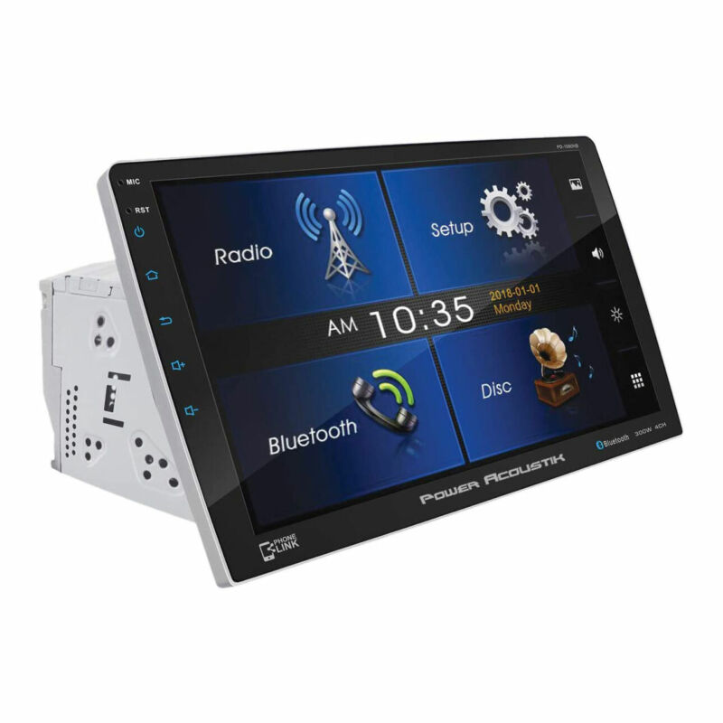 Power Acoustik PD-1060HB 10.6 Inch Multimedia LCD Touchscreen DVD with Bluetooth