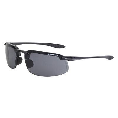Radians Crossfire Es4 2141 Smoke Lens Safety Glasses