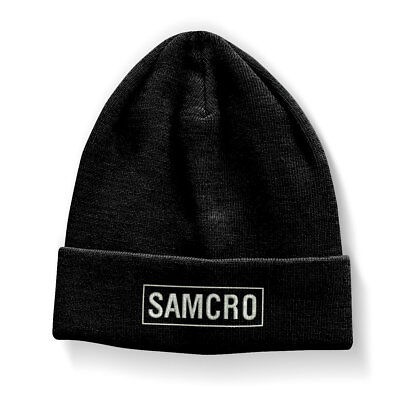 SAMCRO Sons of Anarchy M.C. Biker Motorrad Winter Hut Kappe Mütze Beanie