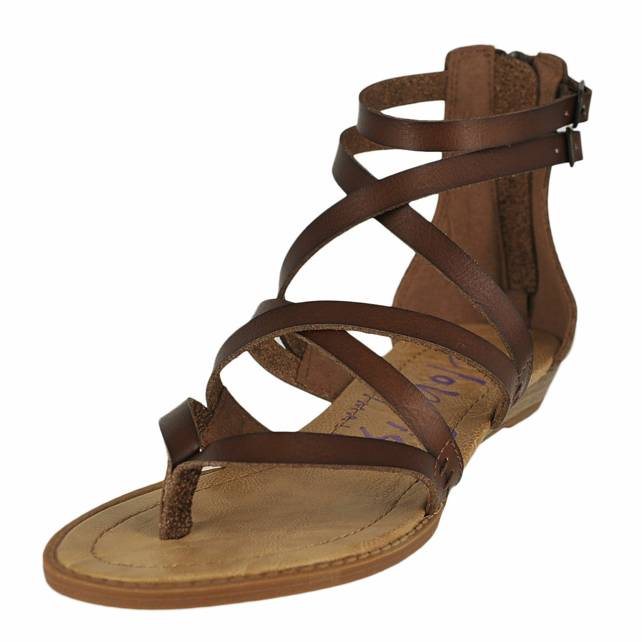 3eefada66 Women s Blowfish Bungalow Whiskey Gladiator Style Sandals Shoes 6