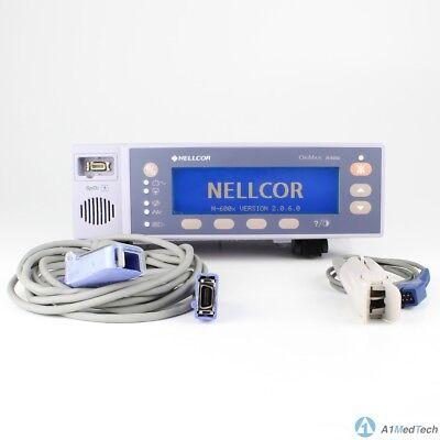 Nellcor N-600x Spo2 Monitor Pulse Oximeter