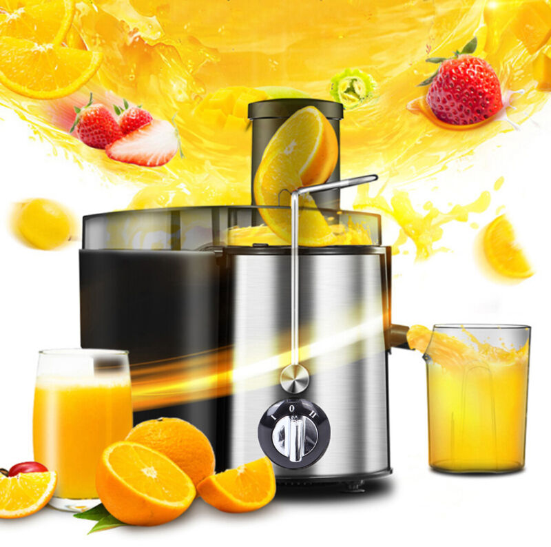 Electric Fruit Juice Extractor Machine Vegetable Blender Squ