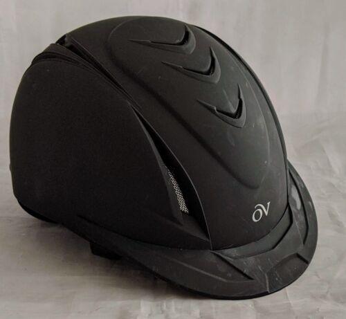 Ovation KidsDeluxe Schooler Black Riding Equestrian Helmet XS/S 48-52