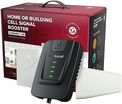 NEW Cell Phone Signal Booster 5000 sq ft - weBoost Connect 4