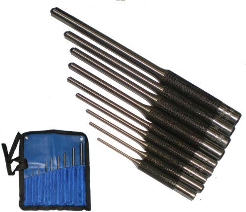 9 Pc Roll Pin Punch Set Gunsmithing Kit Removing Repair Tool Spring Gun Smithing