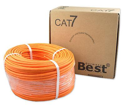 Cat7 (CAT.7 Verlegekabel BEST Gigabit Netzwerkkabel KUPFER Lan 1000Mhz S/FTP KAT 7)