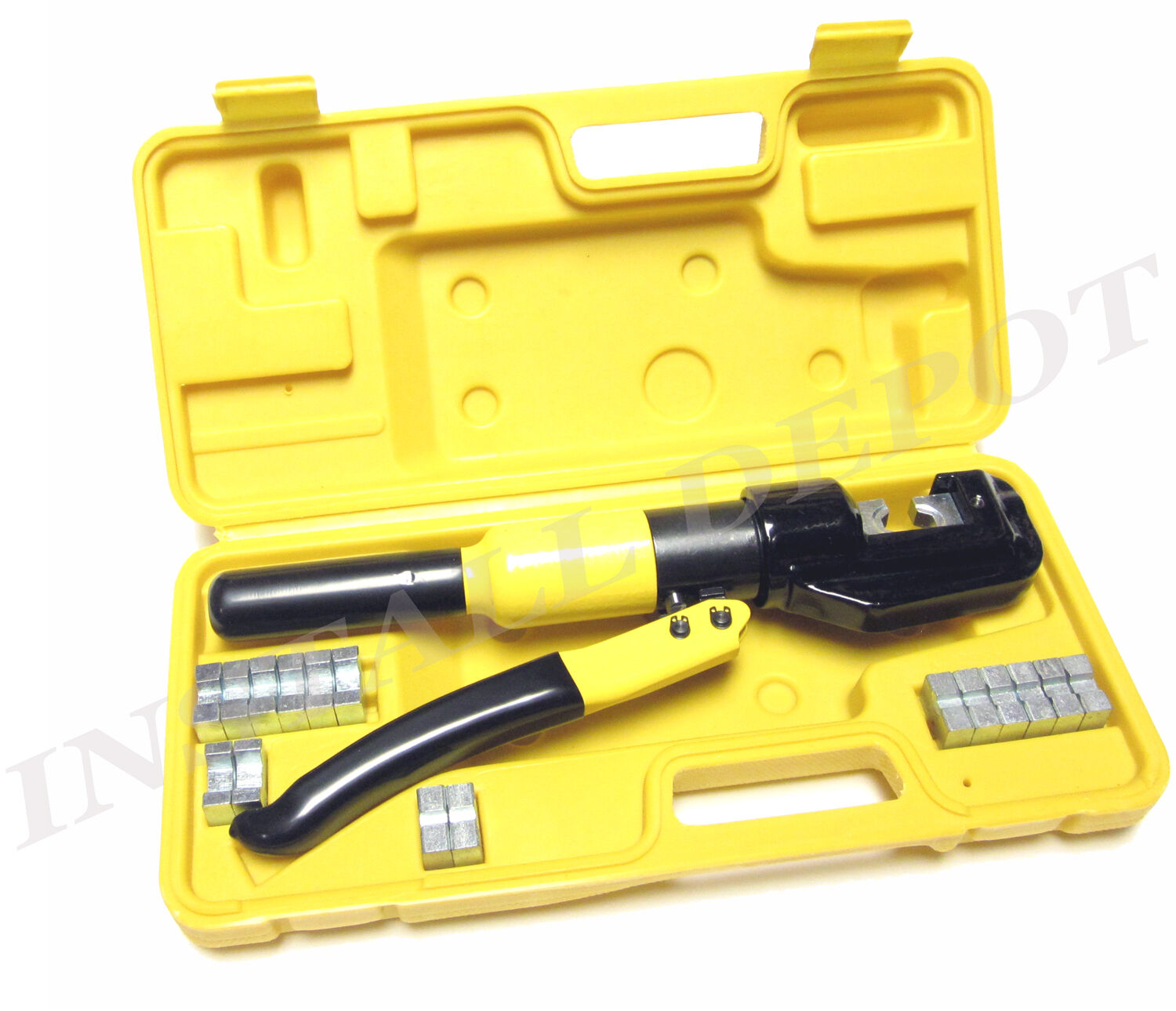8 Ton Hydraulic Crimping Tool Battery Cable Lug Wire