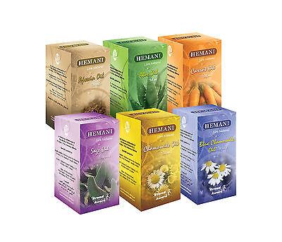 Hemani 100%Natural Cold Pressed Halal Oil's 30ml US Wholesaler Best Deal/365 (Best Presses)
