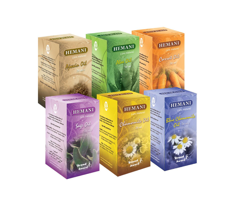 Hemani 100%Natural Cold Pressed Halal Oil's 30ml US Wholesaler Best Deal/365 day