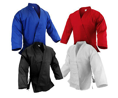 New Martial Arts Karate 7.5 oz Jacket Only Gi Uniform Light Weight  -