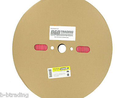 100 Ft Roll 1 Id 25mm Thermosleeve Red Polyolefin 21 Heat Shrink Tubing