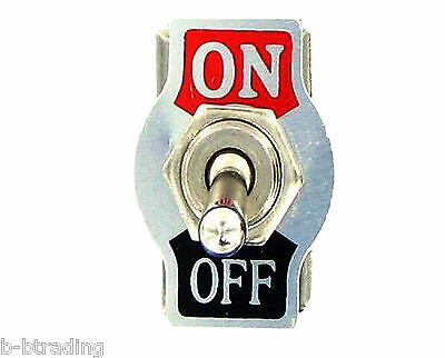 Heavy Duty 20a 125v 15a 250v Spst 2 Terminal Onoff Toggle Switch With Plate