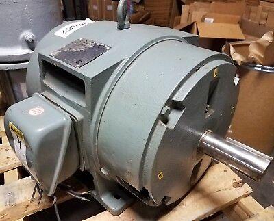 Siemens 15 Hp 3 Phase Motor  51-396-288 Rg1  230460 Volt 1 58 Dia Shaft