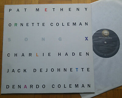 PAT METHENY / ORNETTE COLEMAN - Song X * LP * D 1986