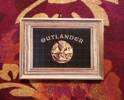 Thistle Crest Inspired Christmas Tree Ornament For Outlander Fans