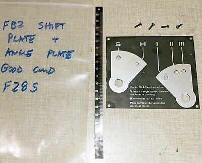 Emco Fb-2 Mill Drill Super 11 Lathe Parts Gear Shift Plate Angle Marker F28s